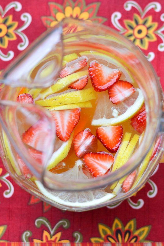 Luscious White Sangria | Turn an ordinary bottle of white wine into a ...