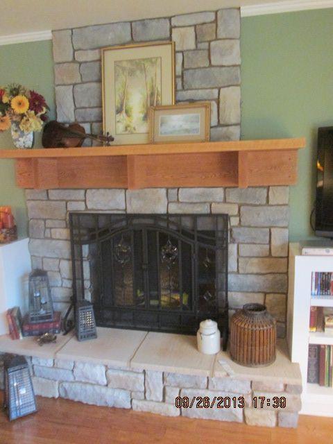 Fireplace Facade Ideas : new fireplace facade  My work  Pinterest