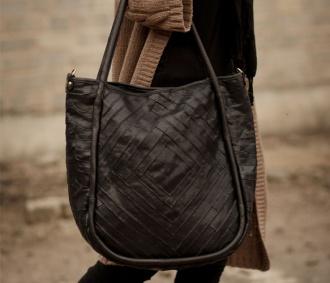Genuine Black Handbag