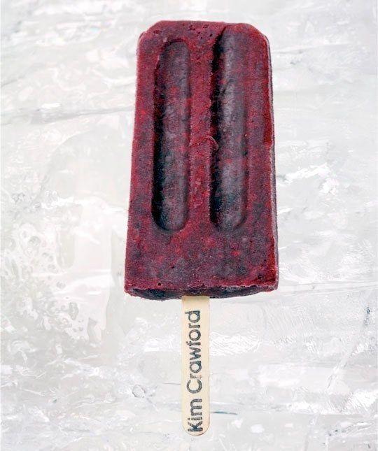 Pinot Noir-Blackberry Ice Pops