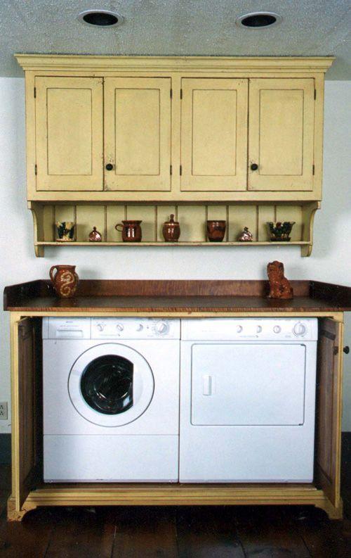 Primitive Laundry Rooms LOVE Primitive Decorating Ideas Pinter