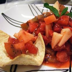 Annie's Fruit Salsa and Cinnamon Chips. A great summer dessert ...