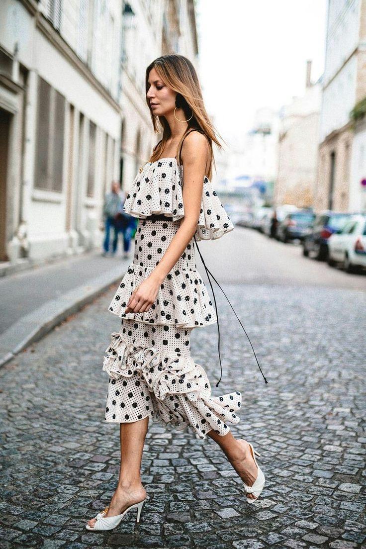 Polka dot fashion wear 84