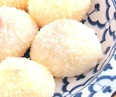 Glutinous Rice Ball With Red Bean Paste, Chinese food culture, recipe ...