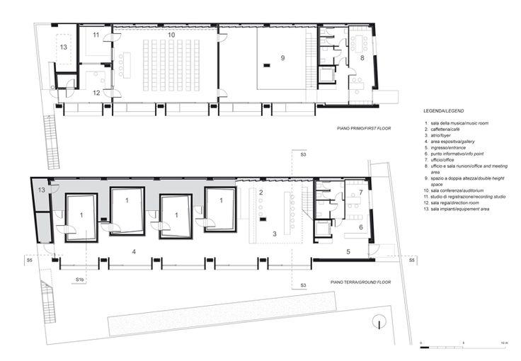 La casa della musica geza gri e zucchi architetti for Log casa architetti
