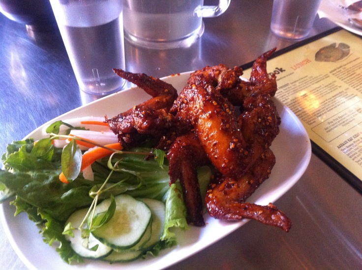ike's vietnamese fish sauce wings @ pok pok in pdx