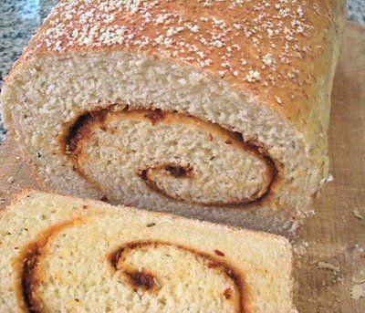 ... pesto tomato pesto swirl bread recipes dishmaps tomato pesto swirl