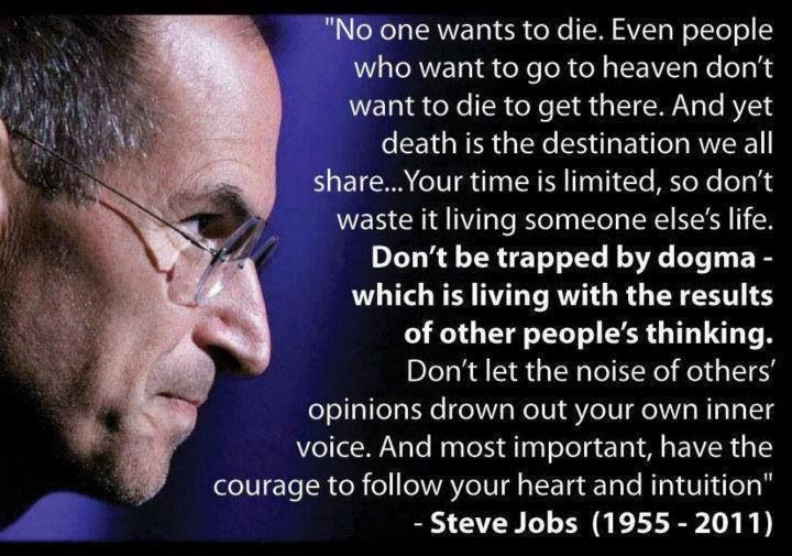 Steve Jobs Courage Quote