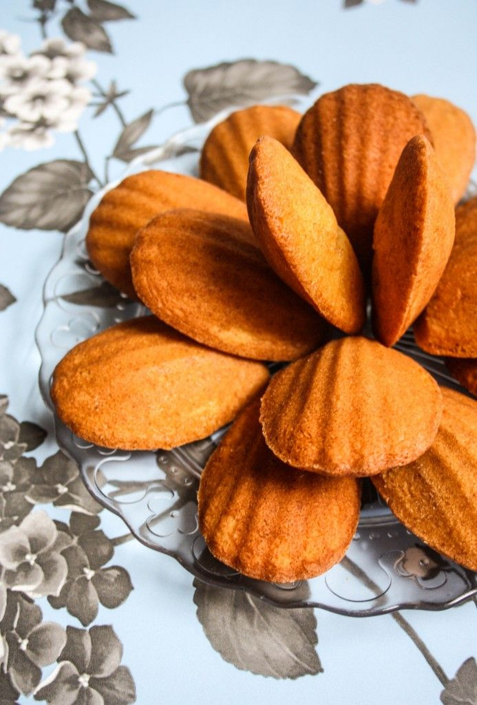 Honey and Vanilla Madeleines | Favourite recipes | Pinterest