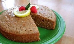Lemon Cake with Honey-Lemon Glaze | Health Food Recipes | Pinterest