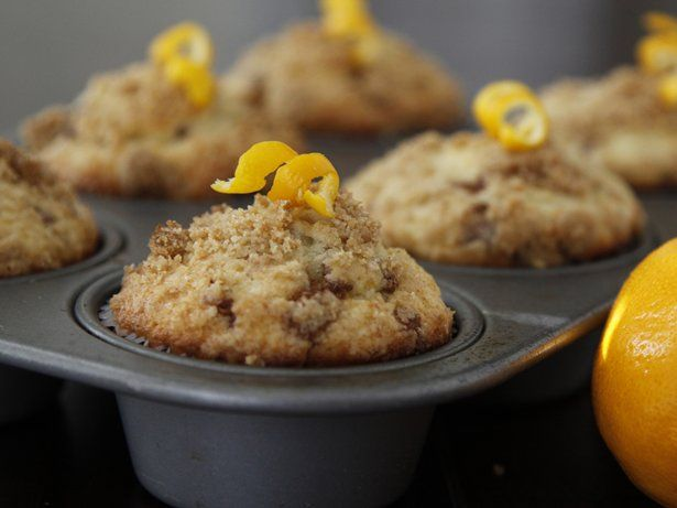 Meyer Lemon Coffee Cake Muffins | Recipe