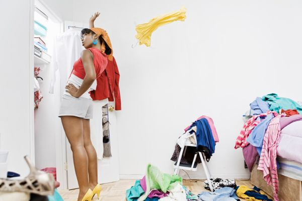 Clean your closet in 15 minutes!