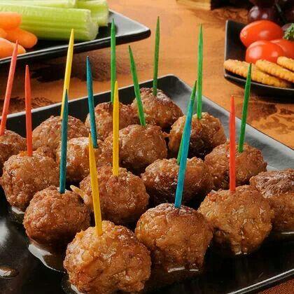 Cocktail meatballs | recipe's | Pinterest