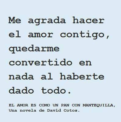 David Cotos | Lo que me gusta de tu lengua es la palabra ...