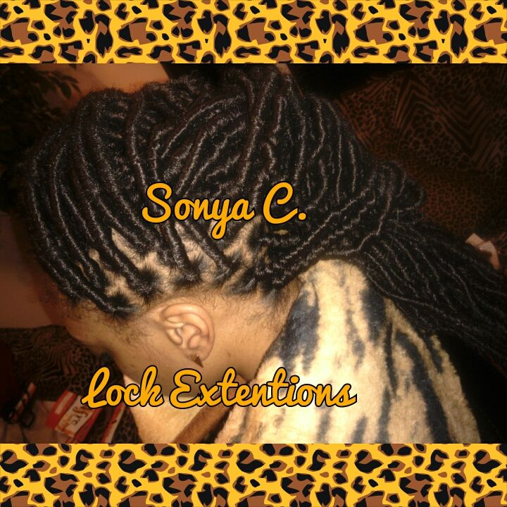 Mohawk Loc Extentions