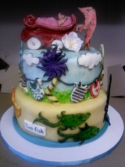 dr seuss baby shower cake beautiful cakes 2 pinterest