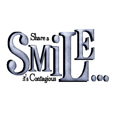 smiling is contagious ...