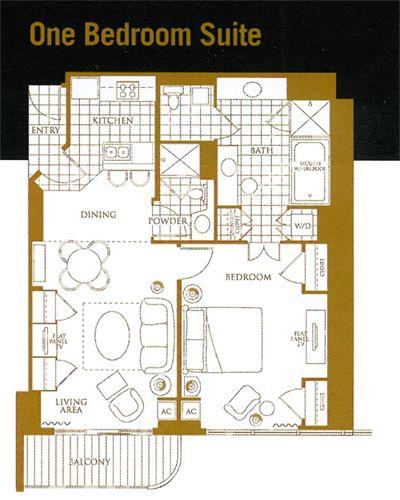 Mgm Grand Signature 1 Bedroom Floor Plan Vegas Trip Pinterest