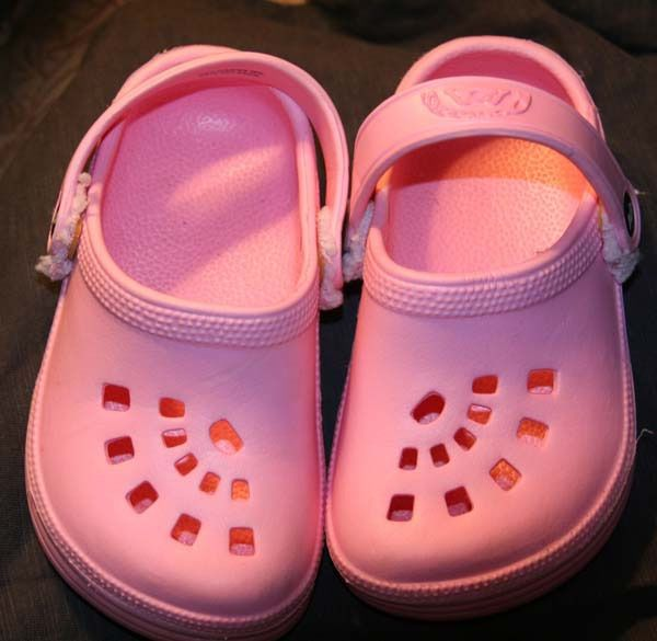 Doggers Kids Size 9 10 T Pink Girls Toddler Clogs Kids Shoes Slip-Ons