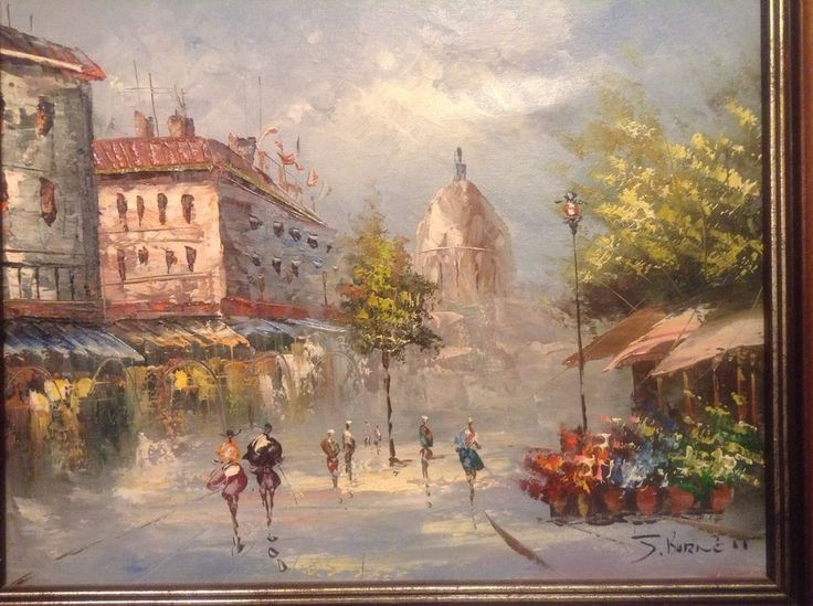 How to Frame an Oil Painting