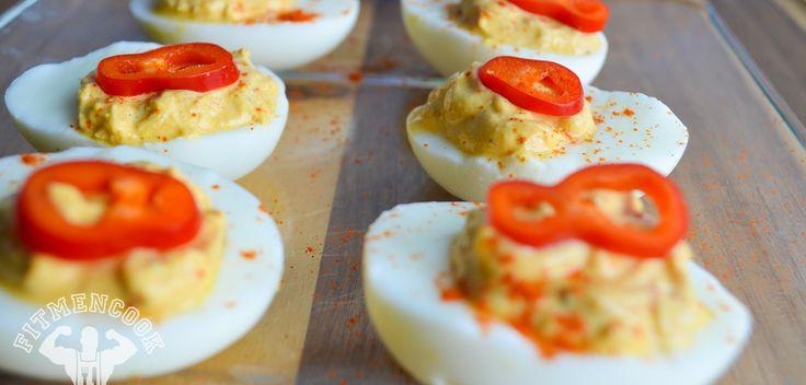 Healthy deviled eggs with Greek yogurt   Food Ideas   Pinterest