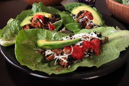 Kale, Turkey and Black Bean Taco Filling - Plus 5 ways to use it!