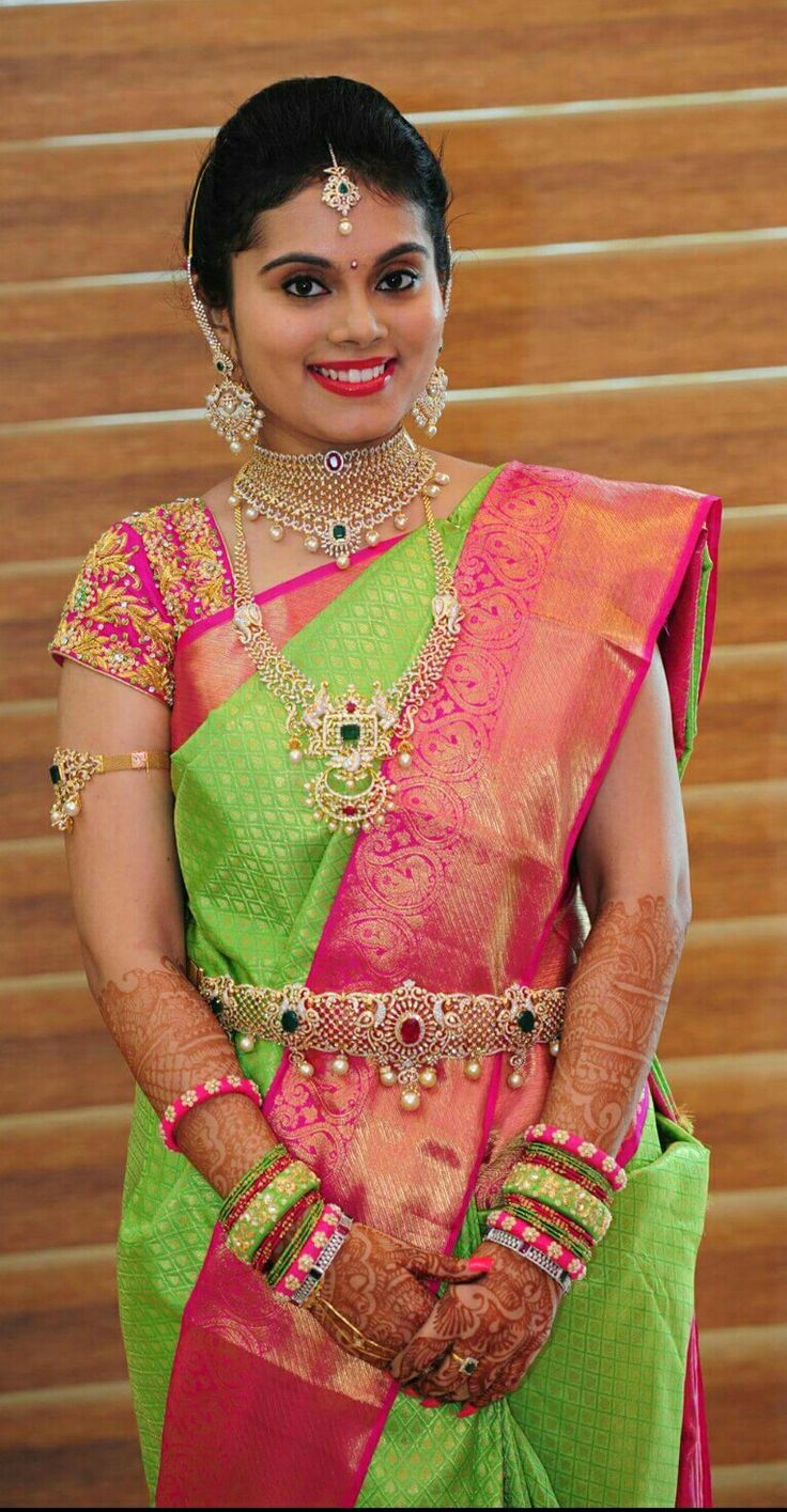 Silk sarees wedding