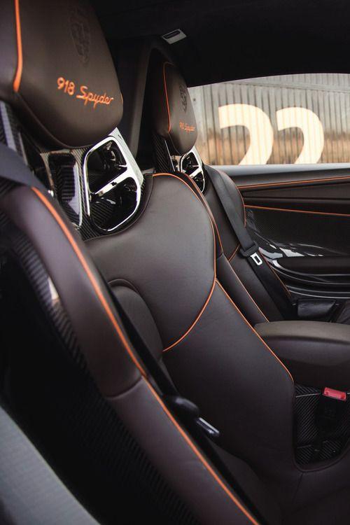porsche 918 spyder interior porsche porn pinterest. Black Bedroom Furniture Sets. Home Design Ideas