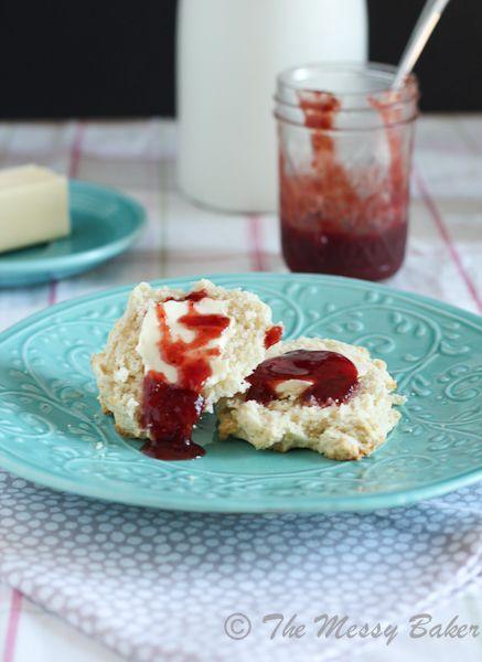 SundaySupper ~ Strawberry Balsamic Jam - The Messy Baker Blog