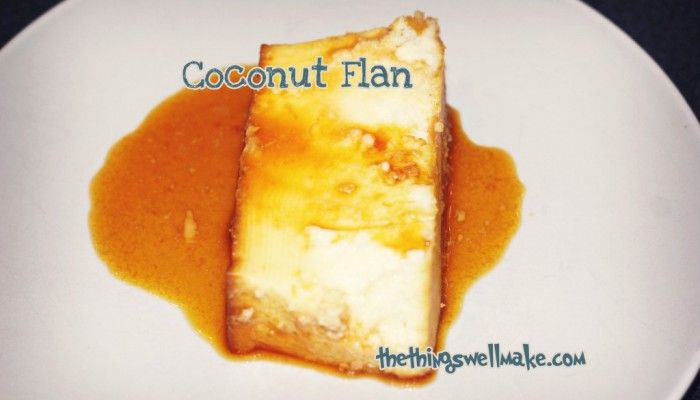 My Coconut Flan Experiment - How to make coconut flan from scratch.