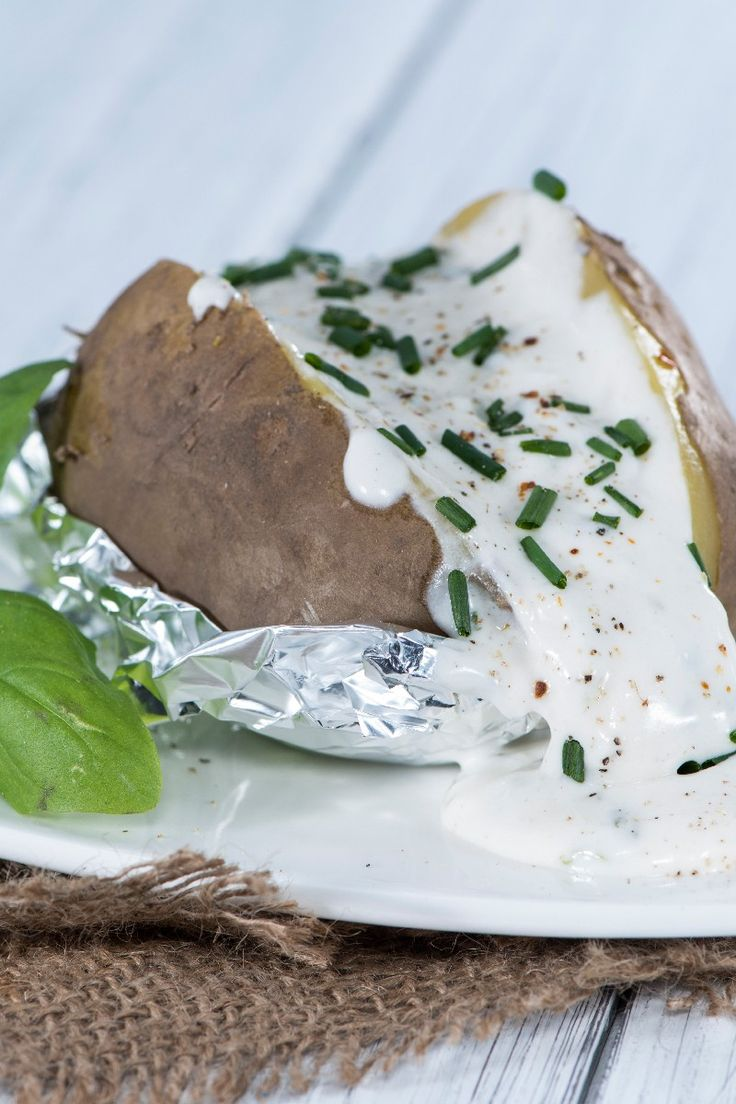 Slow Cooker Baked Potatoes Recipe | Yum! Slow Cooker Meals | Pinterest