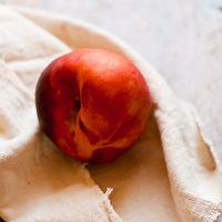 Peach Gujiya - an Indian Empanada or Deep Fried Pie