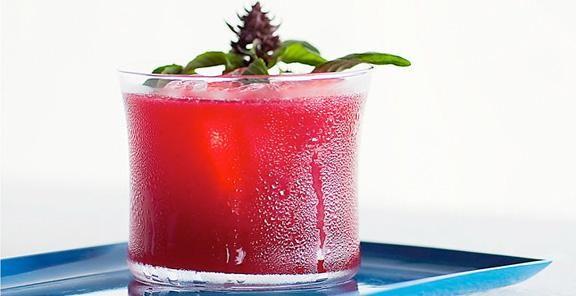 Blackberry-Gin Fizz Recipe