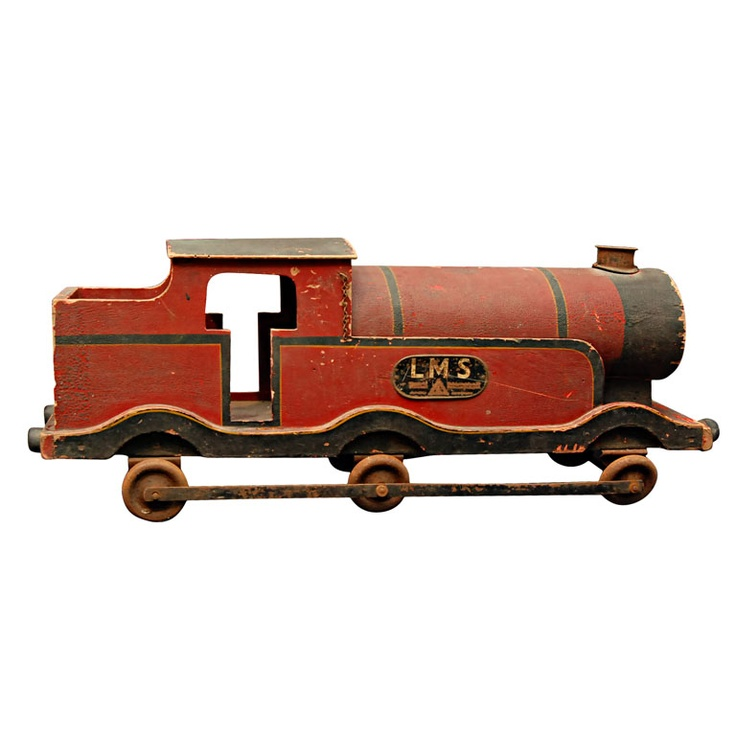 Old Toy Trains : Toy train kids collectibles pinterest