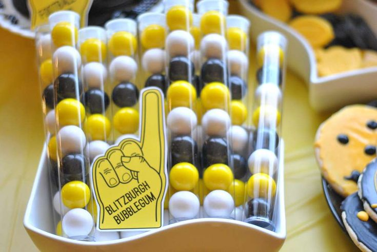 ... football pittsburgh birthday party ideas photo 11 of 36 catch my party