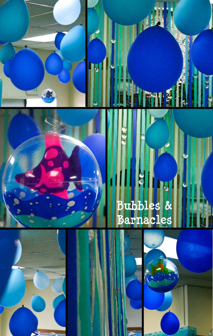 Balloon and streamer decorations madi 39 s 3rd bday party for Balloon and streamer decoration ideas