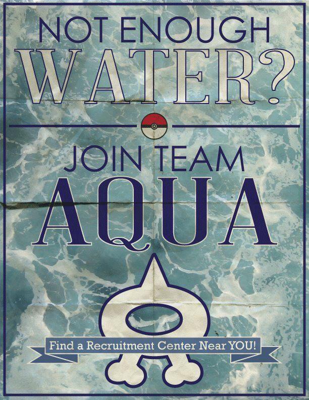 Team Aqua  Team Aqua Wallpaper