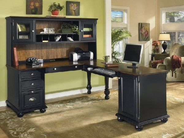 black wooden home office desk ideas home office music