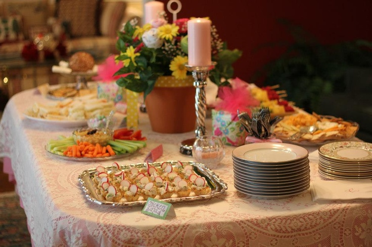 baby shower food table baby shower pinterest