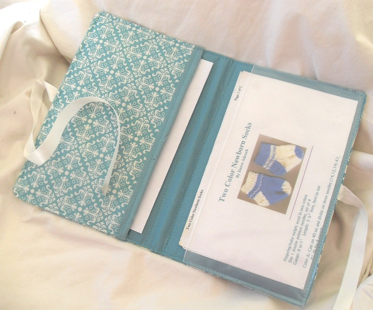 Knitting Pattern Keeper : Pattern Wallet Knitting Pattern Keeper Holder Chart Helper ...