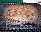 Roy Rogers Billfold - Leather Wallet.