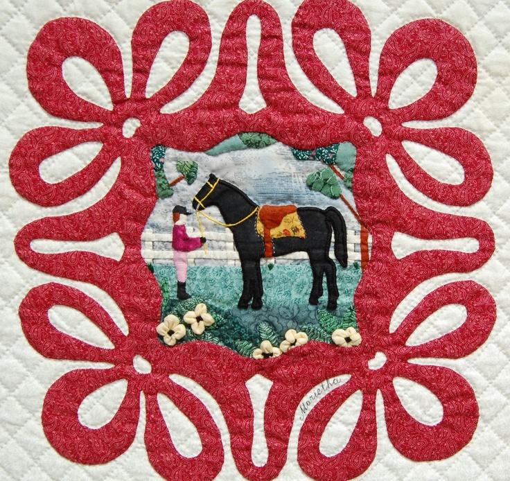 Album Quilt block by Renske Helmuth