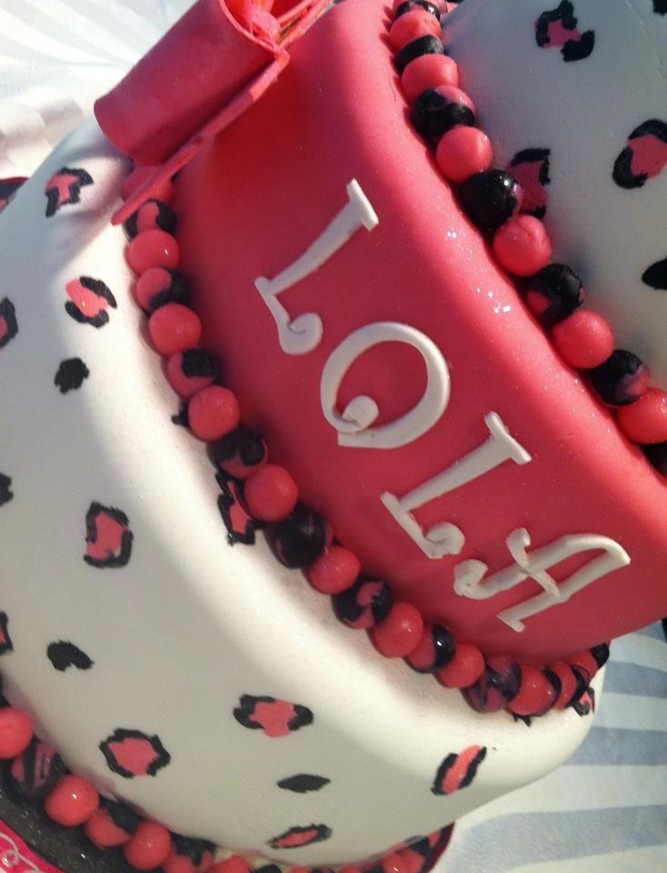 Happy Birthday Lola Message ~ Happy birthday lola custom cakes by chocolate in the oven llc p