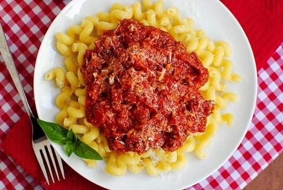 Crock Pot Spaghetti Sauce | pasta pasta... | Pinterest