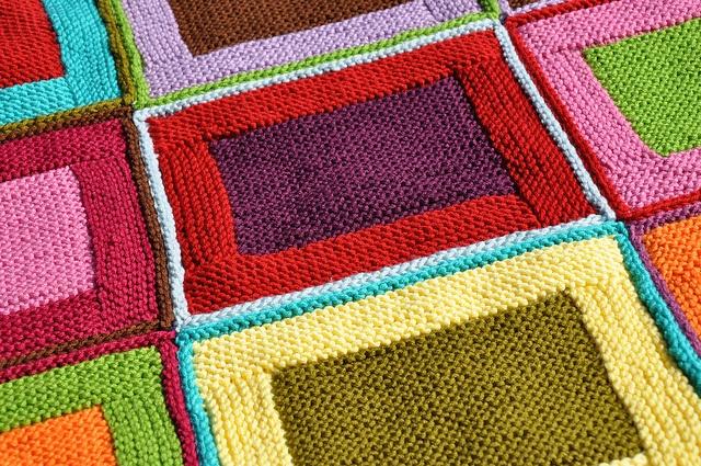 Pin by creativedar on knit knit crochet pinterest for Log cabin blanket