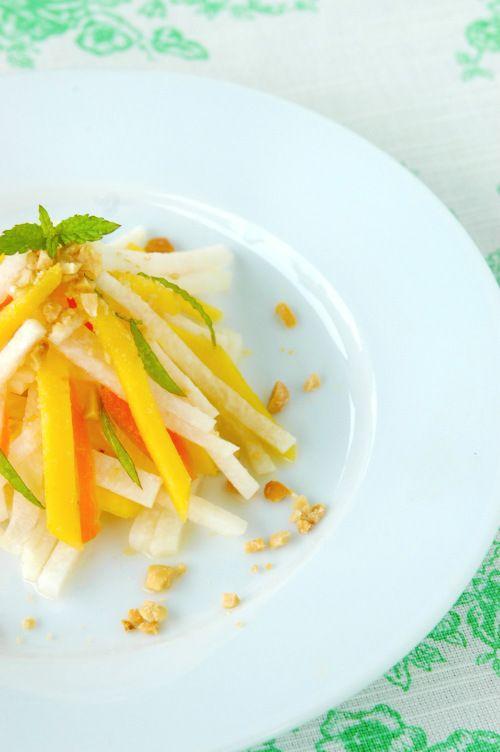 jicama-mango-salad | Super Soups & Salads | Pinterest