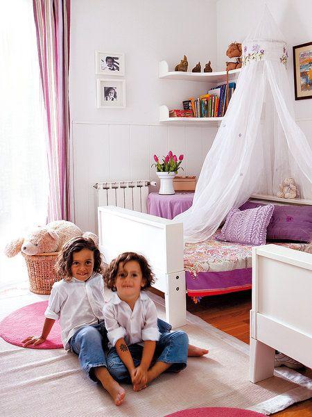Decoracion Habitacion Ni?os ~ Un dormitorio para dos gemelos  La habitaci?n de los ni?os