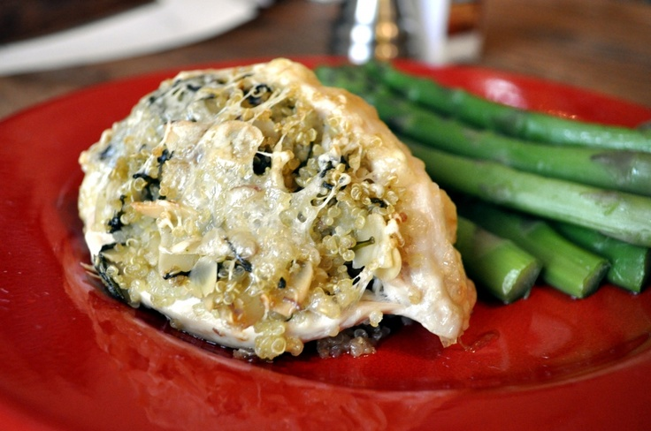 ... like this: spinach stuffed chicken , stuffed chicken and spinach