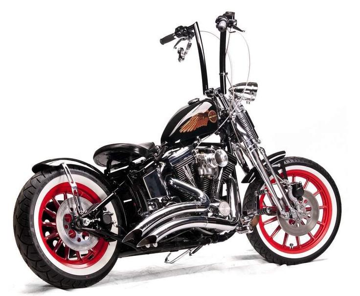 Quot Softail Springer Bobber Quot Hot Bikes Pinterest