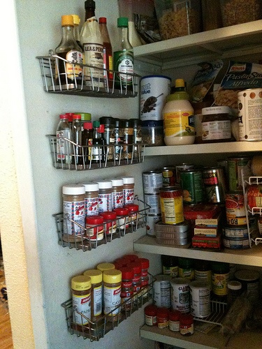 Ikea Schreibtisch Fuer Kinder ~ My spices on the wall Racks from IKEA  organize  Pinterest
